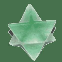Green Aventurine Merkaba