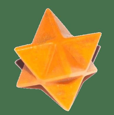 Orange Quartz Merkaba