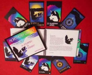 Northern LIlghts Chakra Cards book and deck