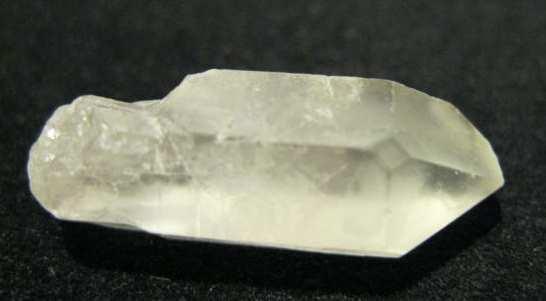 photo of natural quartz crystal