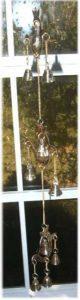3 OM Brass Bell Chime