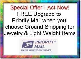 Free Upgrade to Priority Mail
