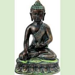 Earth Touching Resin Buddha