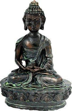 Lotus Meditating Resin Buddha