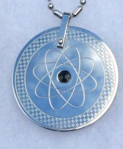 Stainless Steel Scalar Energy Pendant and Chain