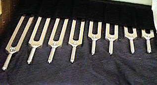 solar harmonic tuning fork set