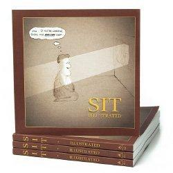 Cover of Sit Illustrated Meditation Book