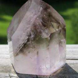 SMAP -3 Smoky Amethyst Crystal Point, 95 gms, 2 in x 1.5 in.