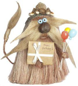 Birthday Troll - hand made mountain troll