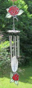 Loving Rose Windchime