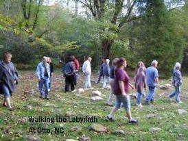 Gathering at the Otto Labyrinth Park