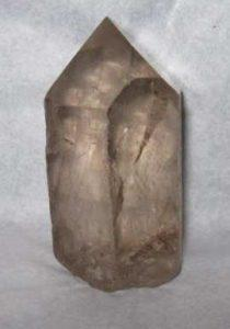 Smoky Lemurian Crystal