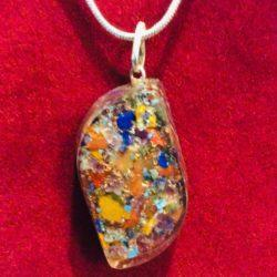 Orgone Basic Pendant on Red at MVC