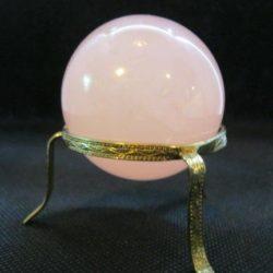 Small Rose Quartz Sphere