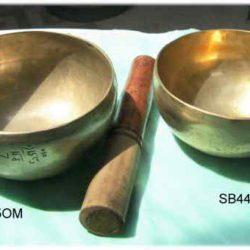 Tibetan hand hammered singing bowl