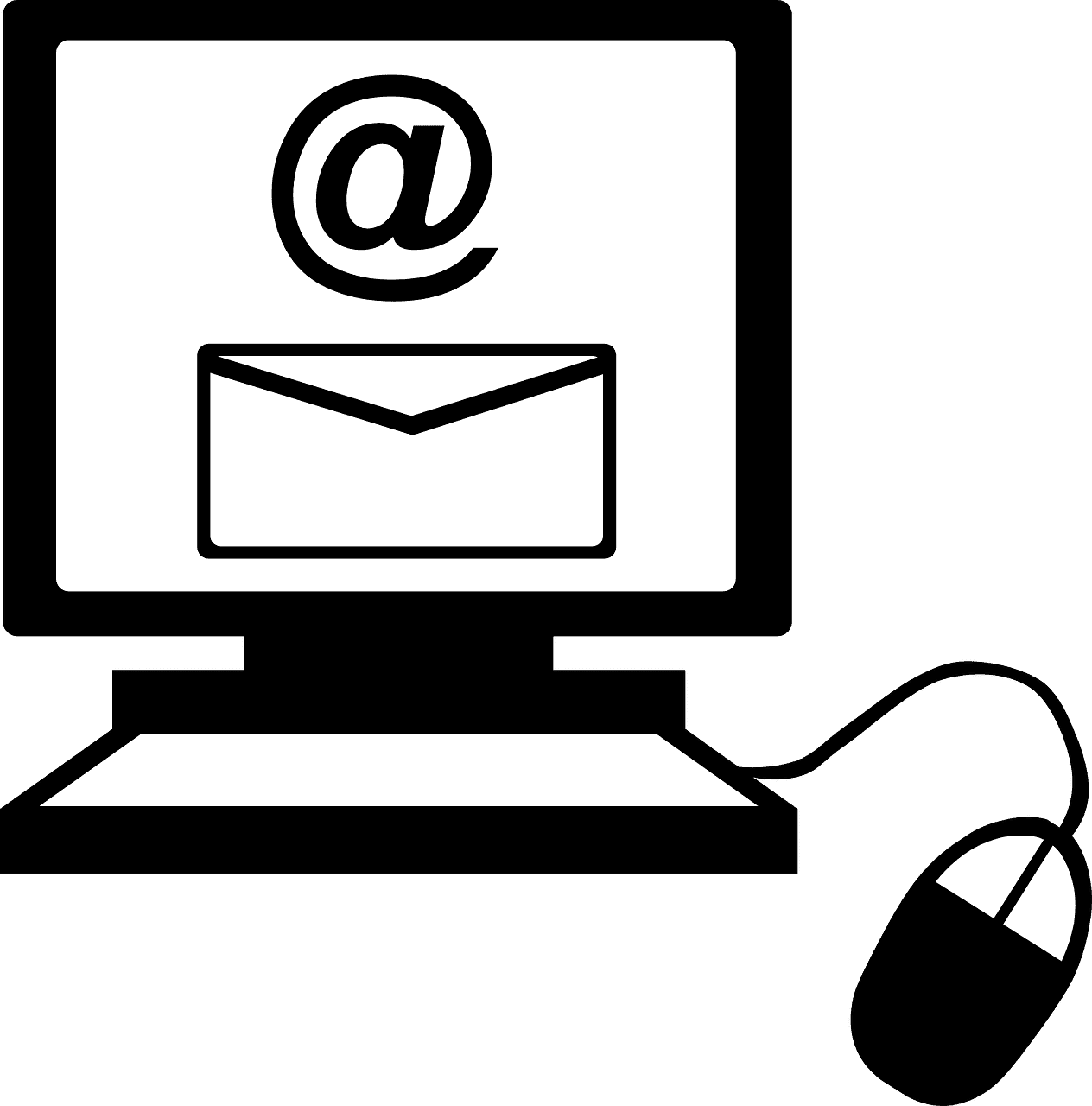png of Email on computer screen