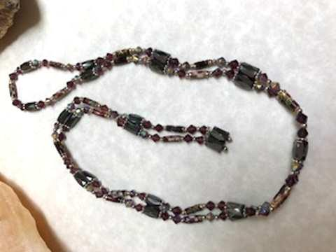 Magnetic Hematite Necklace