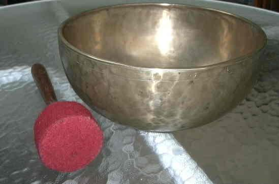 Rare, Large, Tibetan Singing Bowl