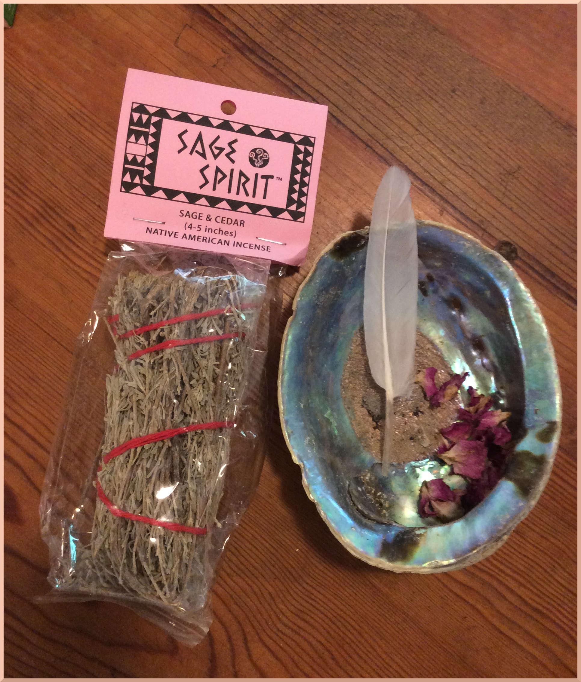 Sage and Cedar Smudge Wand at MVC