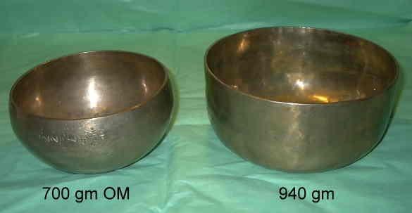 hand hammered tibetan singing bowls