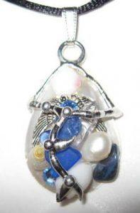 Guardian Angel Shell Amulet by Seeds of Light