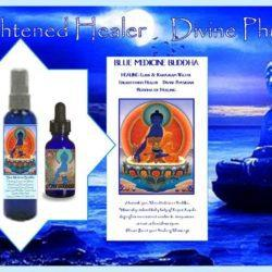 Blue Medicine Buddha Water and Elixir by Gpysy Goddess