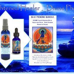Blue Medicine Buddha Water and Elixir by Gpysy Goddess