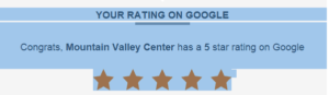 Google rating