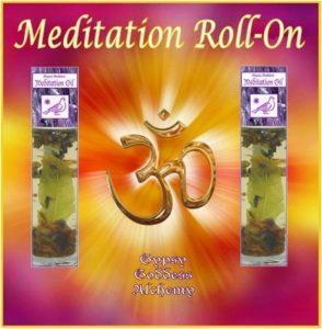 Meditation Roll On Oil by Gypsy Goddess