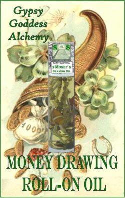 Money Draw Roll On Oil by Gypsy Goddess