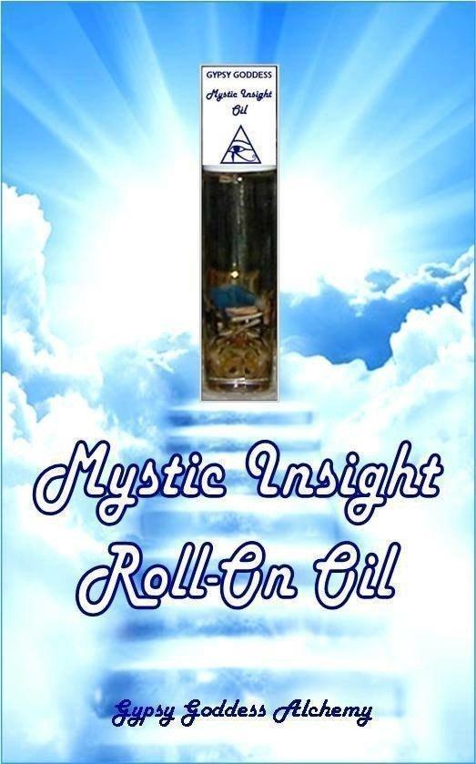 Mystic Insight Roll On Oil by Gypsy Goddess