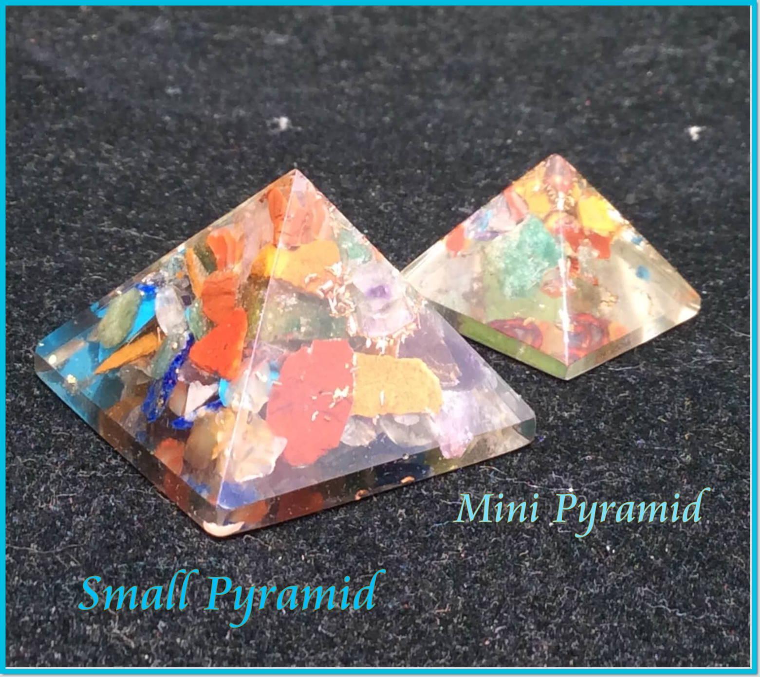 Orgone Pyramids at MVC