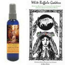 White Buffalo Goddess Water and Elixir