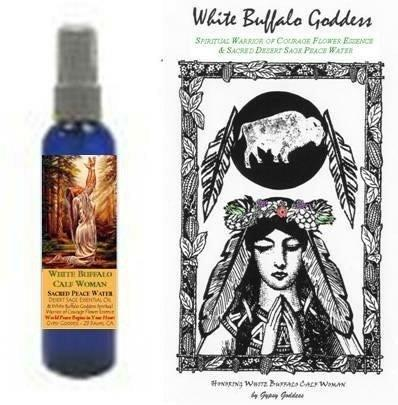 White Buffalo Goddess Water and Elixir