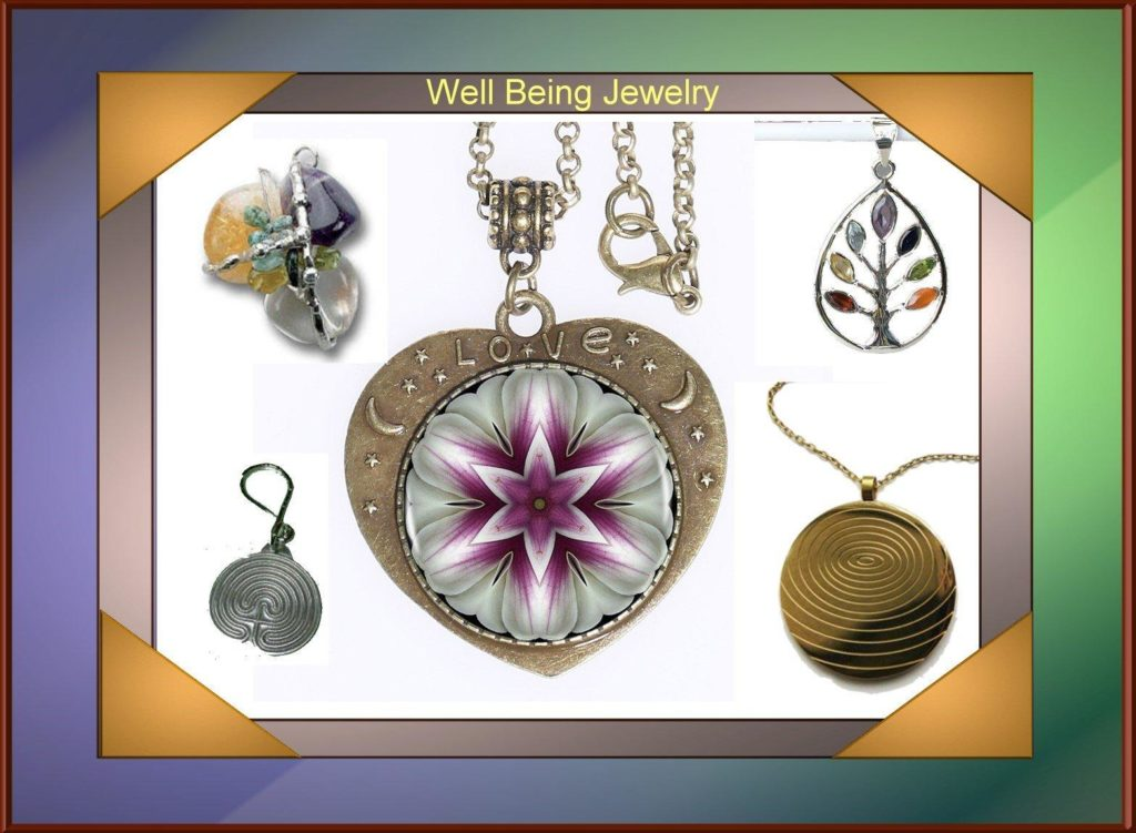 Well Being Jewelry - Chakra and Gemstone Amulets, Scalar Energy, Labyrinth Jewelry