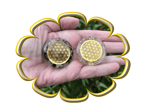 Orgonite Energy Discs - Perfect Protection from harmful EMF's and negative energy!