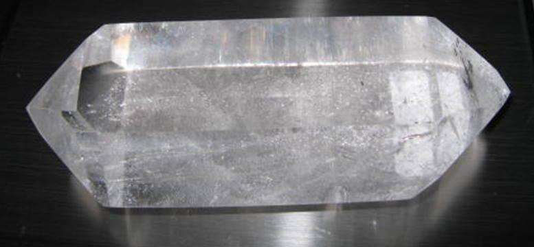 Double Terminated Rainbow Quartz Crystal
