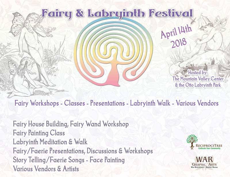Faerie Gathering at the Otto Labyrinth Park