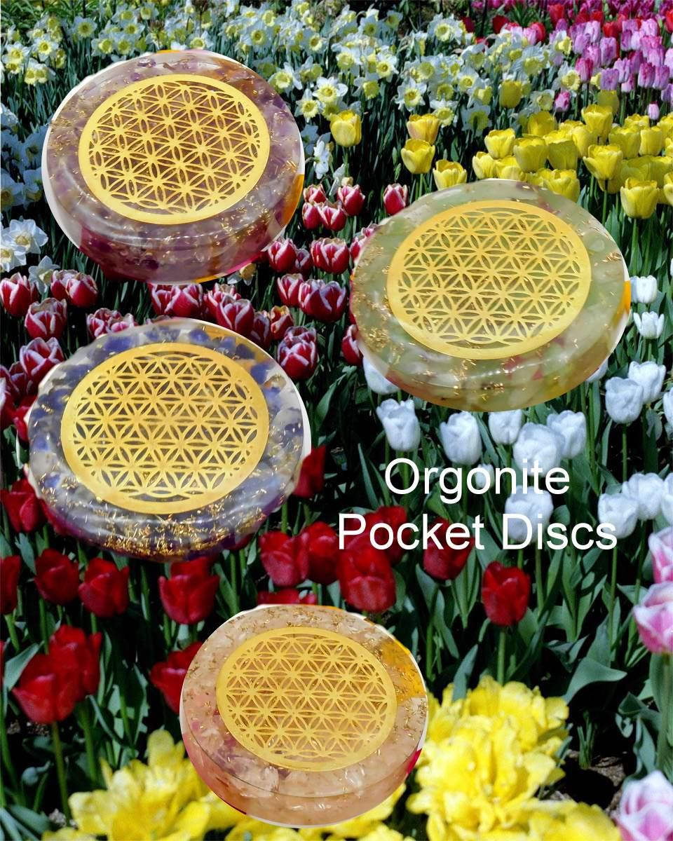Orgonite Pocket Discs