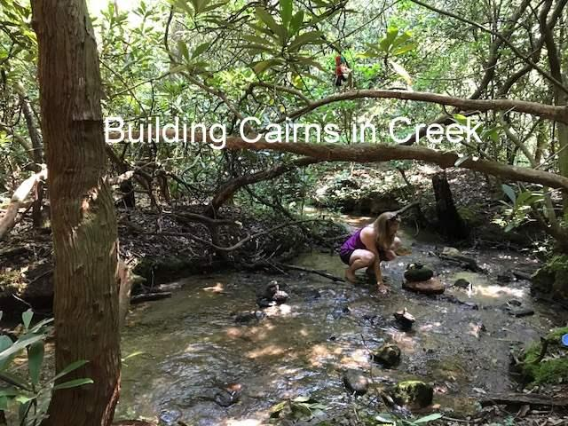 Building Cairns in the Creek