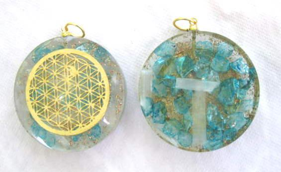 Carry Orgonite Pocket Discs To Balance Your Energy
