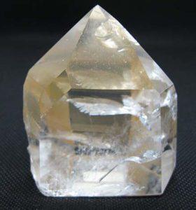 Sand Polished Lenurian Golden Healer Crystal