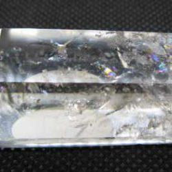 Polished double terminated crystal
