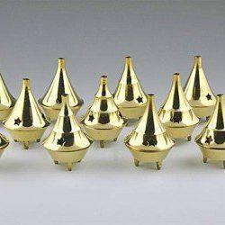 Brass Cone incense holder