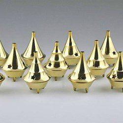 Brass Cone incense holder