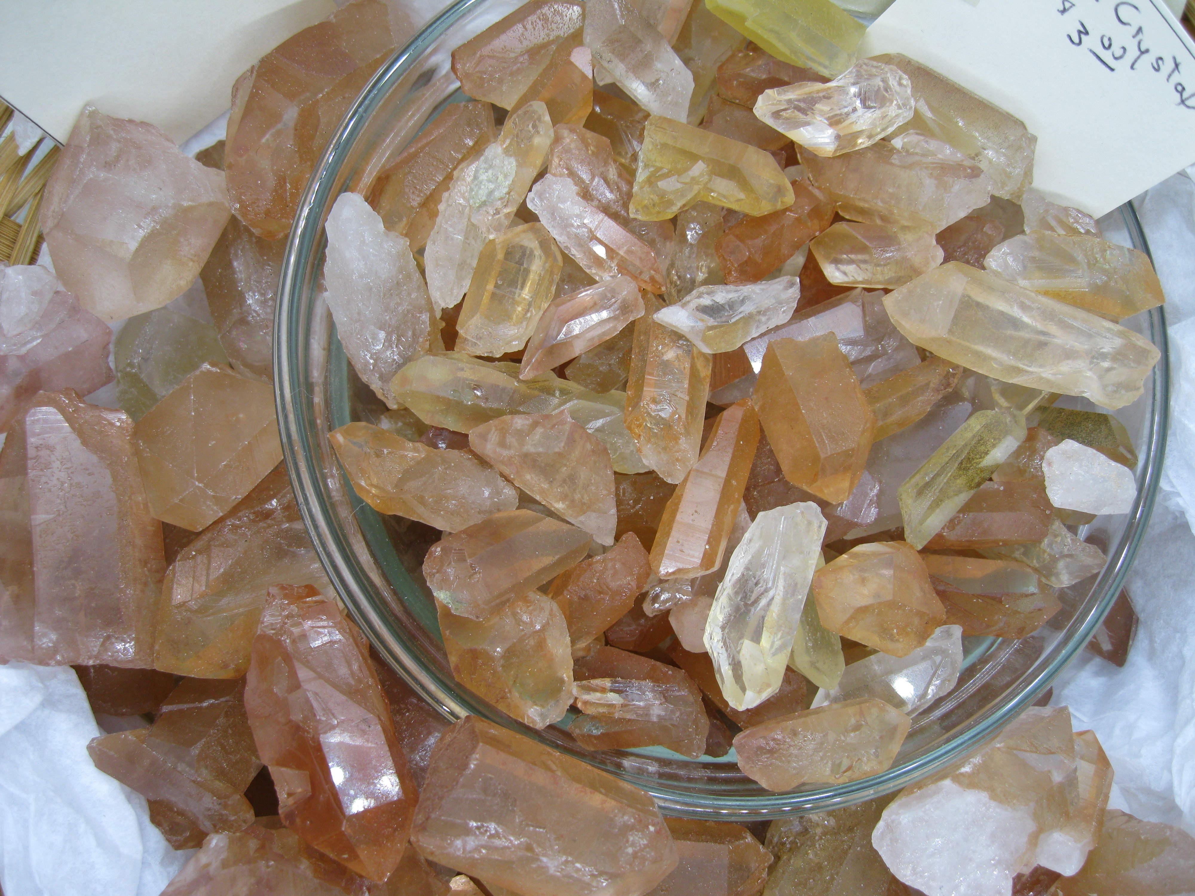 Small Red Lemurian Seed Crystals