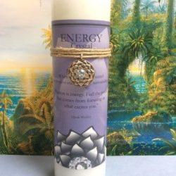 Scented Lotus Energy Candle
