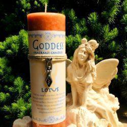 Goddess Lotus candle at MVC
