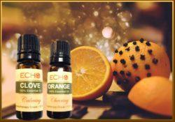 Echo Orange and Clove Essential Oils