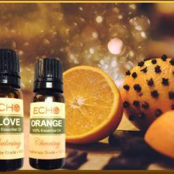 Echo Orange and Clove Essential Oils